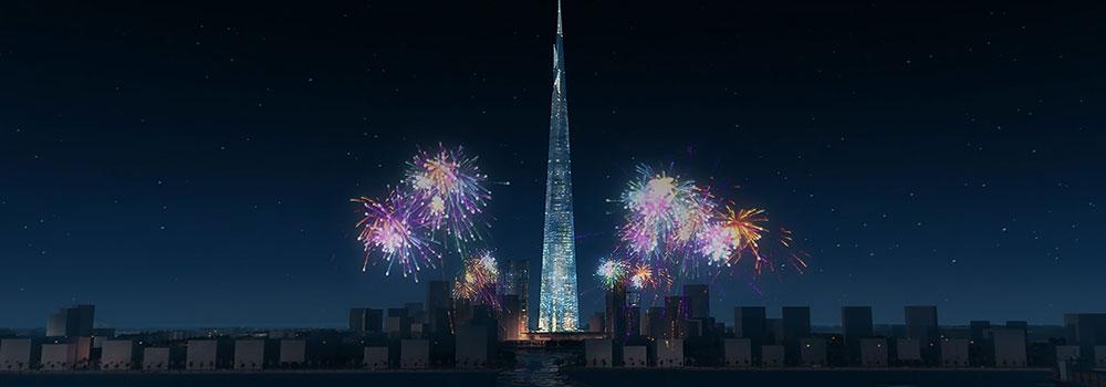 The-Kingdom-Tower-in-Jeddah-on-LightRoom